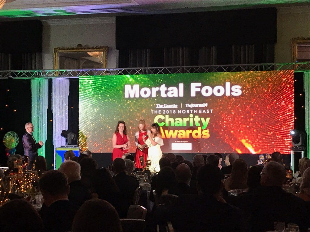 Congratulations @mortalfoolsUK! So deserved! Small…